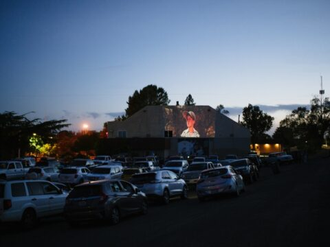 Downtown Oroville Salmon Festival Drive-in Movie