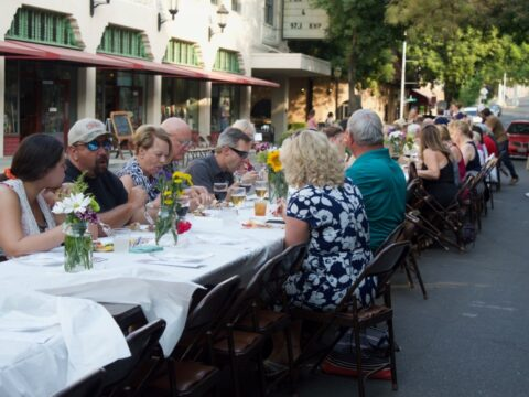 Downtown Oroville's Farm-to-Table Dinner