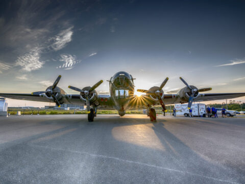 Homecoming of Sentimental Journey at the Chico Air Museum