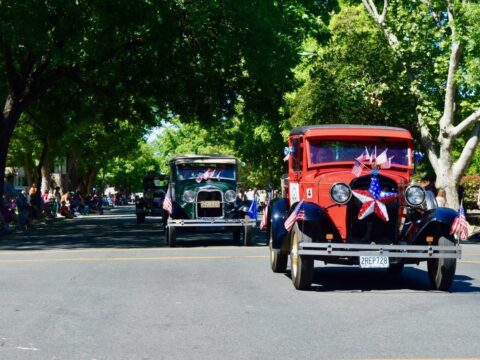 Oroville Gold Rush Car Show